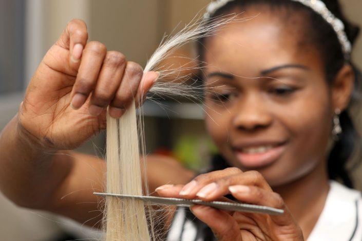 Friseur Haare schneiden